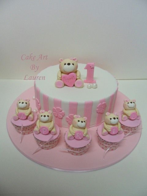 Robert Teddy Cake Artist : 17 Best images about ailbhes cake on Pinterest Pink ...