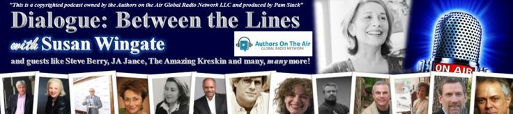 Author Guest Christian Romance Novelist, Debby Lee today on my radio talk show, Dialogue: Between the Lines.