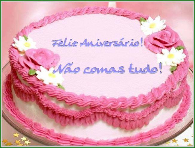 Mensagem Feliz Aniversario Para Facebook: Receita De Bolo De Aniversario Mensagem De Feliz