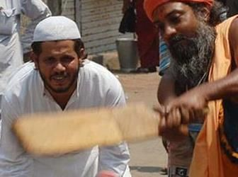 What is the one thing that connects muslim and hindu in India? An another religion of course..Cricket