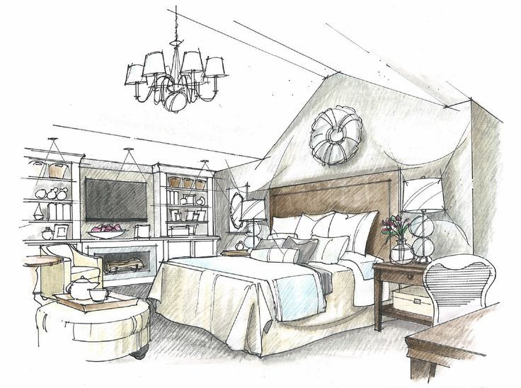 17 best images about interior design sketches on pinterest