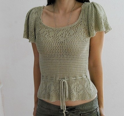 Crochet blouse - blusa de crochet