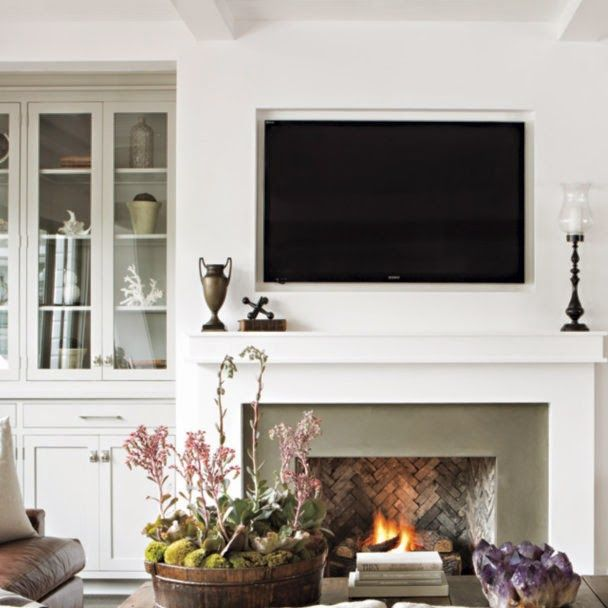 25 Best Ideas About Simple Fireplace On Pinterest Wood Mantle Tiled Fireplace And White