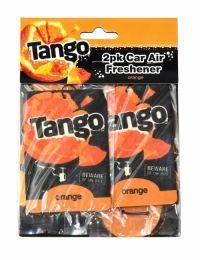 Tango Car Air Freshener 2 Pack Orange Tango car air fresheners with an orange scent.