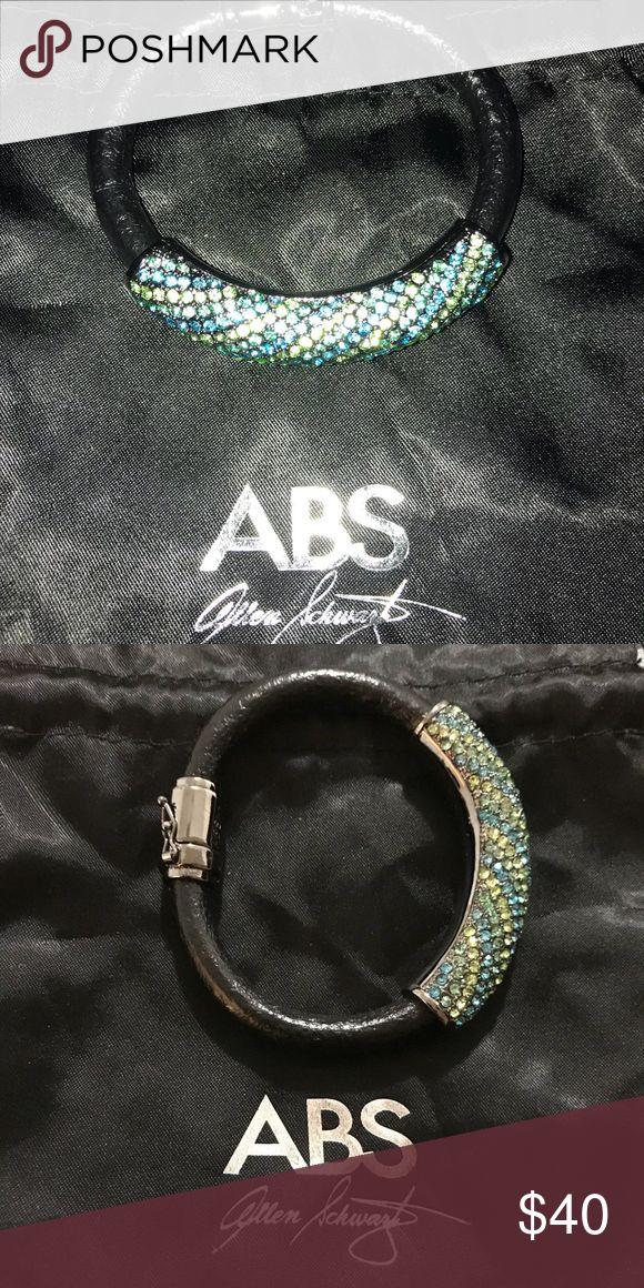 ABS Allen Schwartz Bracelet Elegant statement Bracelet  Beautiful stones. Never worn comes with dust bag. ABS Allen Schwartz Jewelry Bracelets
