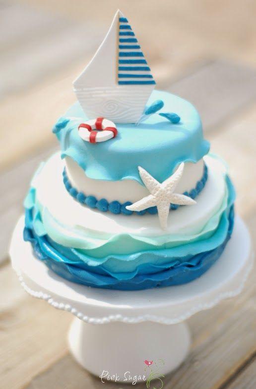 Kessy's Pink Sugar: Nemo´s Ocean cake Rezept