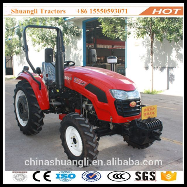Shandong Shuangli SL504 farm tractor price with new design and good performance