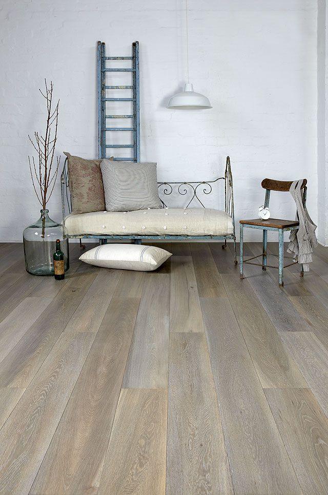 Grey American oak wide floorboards royaloakfloors.com.au