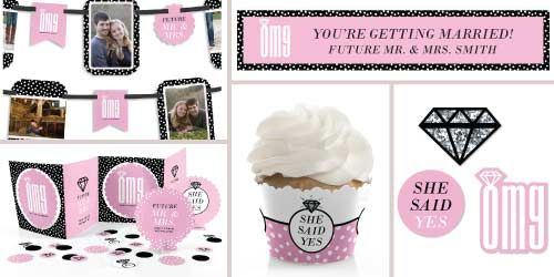 OMG, You're Getting Married - Engagement Party Theme #EngagementDecorations