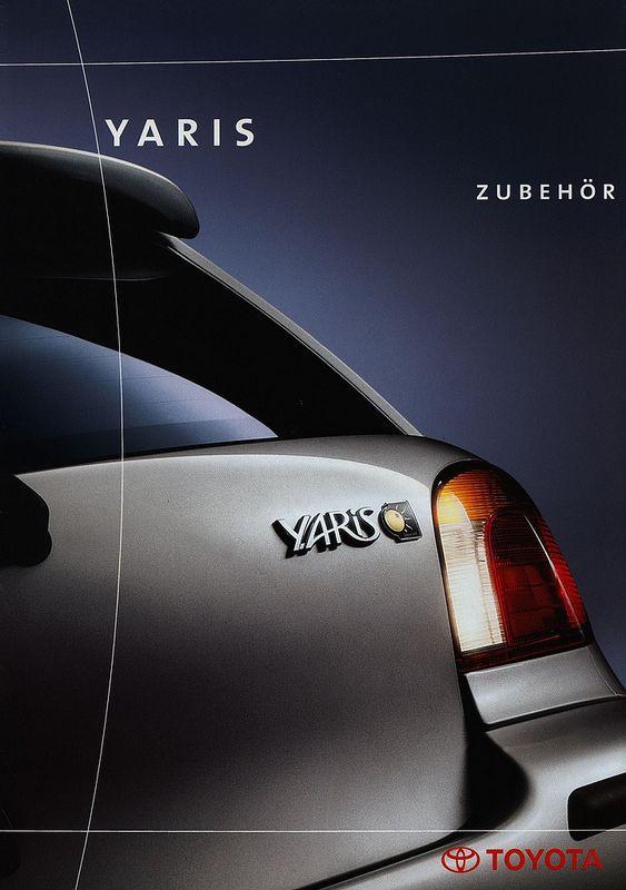 Toyota Yaris Zubehör; 1999   auto car brochure   by worldtravellib World Travel library