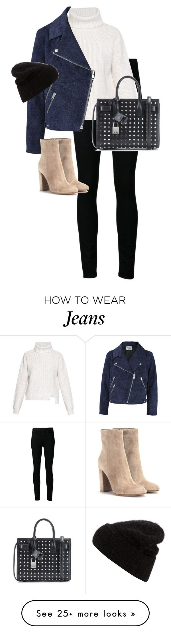 """""""Untitled #10294"""" by alexsrogers on Polyvore featuring Paige Denim, Proenza Schouler, Acne Studios, Gianvito Rossi and Yves Saint Laurent"""