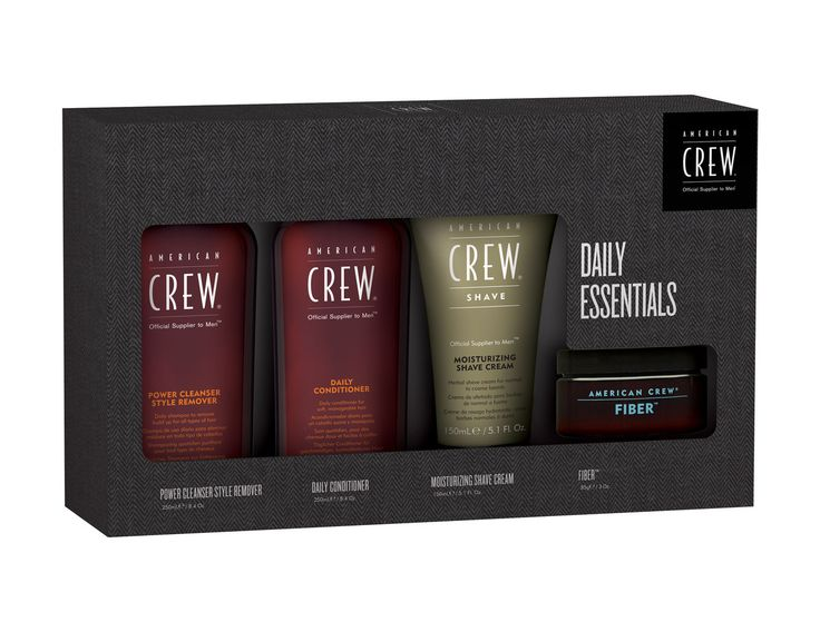 HAIR 2 GO - American Crew - Daily Essentials Quad Pack with Fiber, $34.95 (http://www.hair2go.com.au/american-crew-daily-essentials-quad-pack-with-fiber/)