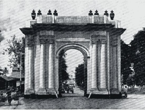 Batavia: The Amsterdam Gate; (demolished)