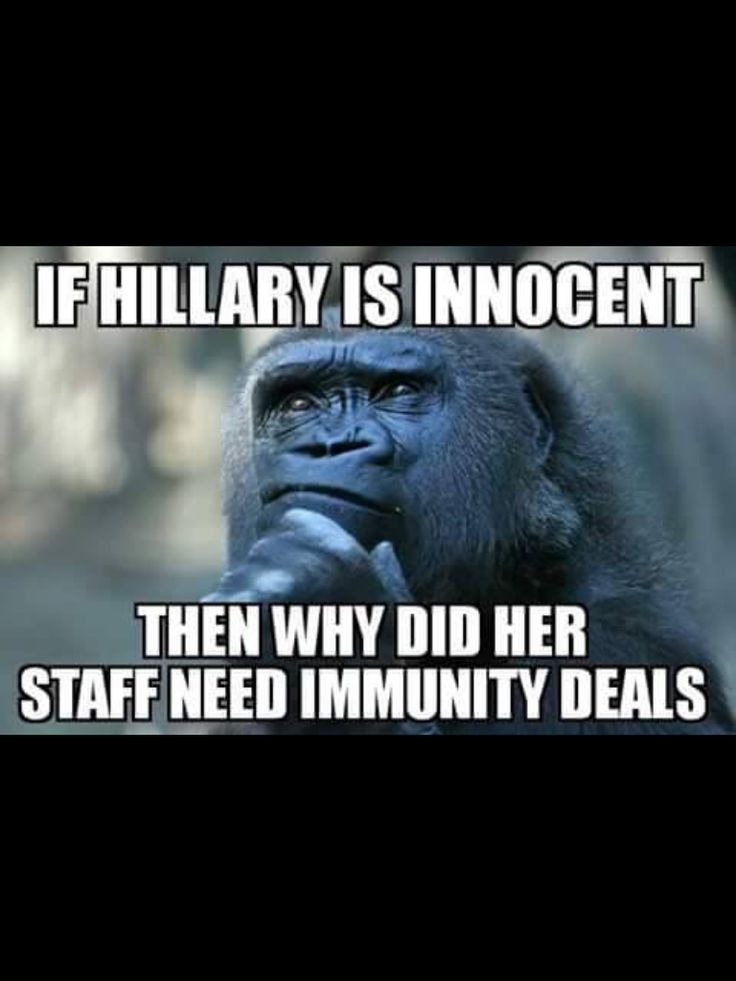 Exactly. Immunity from what? If nothing illegal or unethical was done, there would be no deal for immunity.