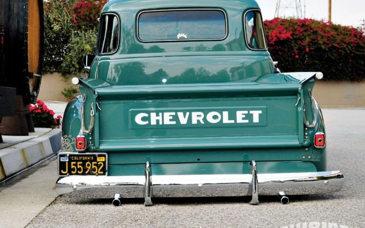 1952 Chevy Truck Chevy Tailgate Ooooooh Baby Chevy