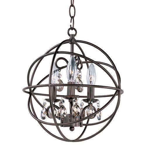 Maxim Lighting International Orbit Oil Rubbed Bronze Three Light Pendant On SALE