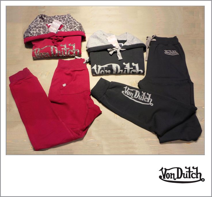 #Male #sweatshirt / Felpa da uomo - #Von #Dutch #Original #price: 62.00€ #Outlet price: 32.90€ #Male #joggers / #Pantaloni da uomo - #VonDutch Original price: 62.00€ Outlet price: 32.90€ #Female sweatshirt / Felpa da #donna - Von Dutch Original price: 62.00€ Outlet price: 39.90€ Female jogging pants / Pantaloni da donna - Von Dutch Original price: 46.00€ Outlet price: 29.90€ #Available at #Hangar #Eighteen - #store number 13. http://www.palmanovaoutlet.it/it/outlet/negozi/hangar-eighteen