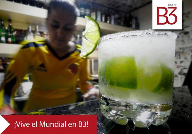 Acompaña la pasión del mundial con deliciosas tapas y cócteles de El Tres bar--> http://ow.ly/xZWgG #AlEstiloB3