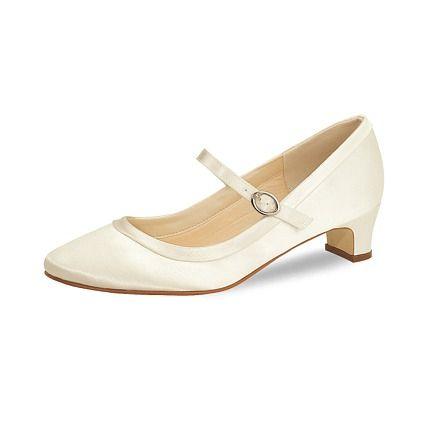 Hochzeitsschuh Larissa weiß - Braut Boutique