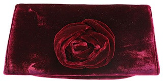 The clutch is in vogue, so you will love our elegant new season's design in sumptuous velvet.