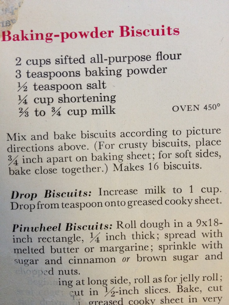 Better Homes And Gardens Baking Powder Biscuits Recipe