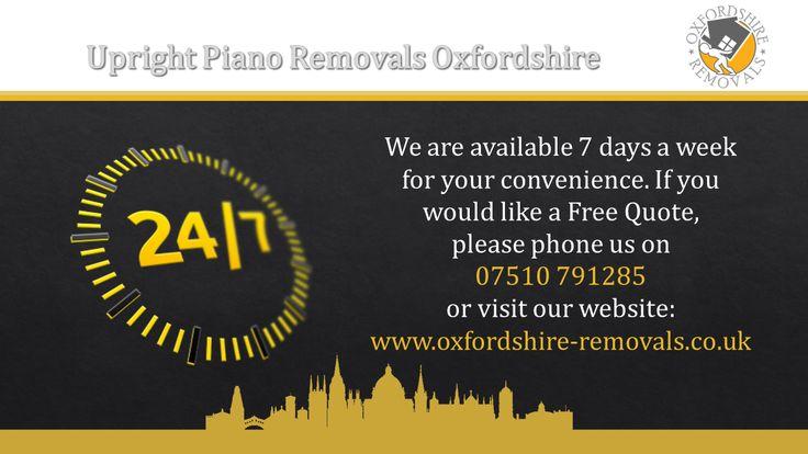 Upright Piano Removals Oxfordshire