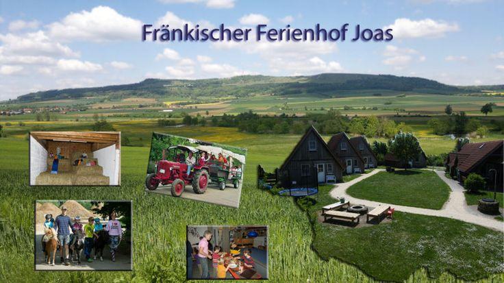 Fränkischer Ferienhof Joas - Urlaub mit Kindern auf dem Bauernhof - Fanken / Bayern