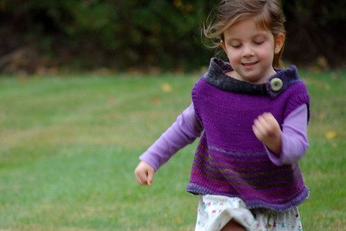Free Knitting Pattern - Toddler & Children's Clothes: Neighborly Vest