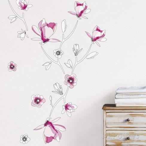 Magnolia Wall Decal - at AllPosters.com.au