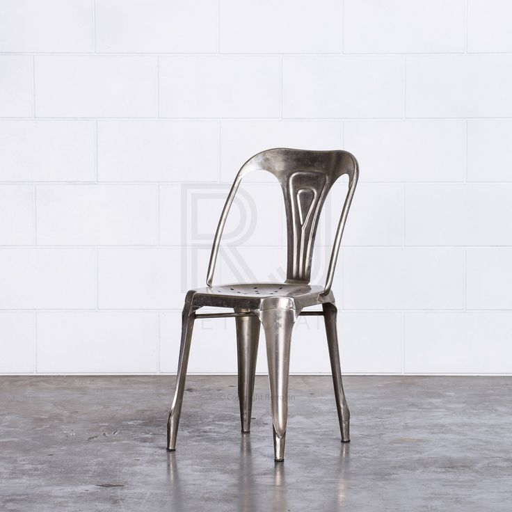 Max Cafe Dining Chairs - SILVER | $99.00