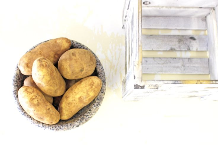 Fresh Potatoes - On Human Rights, Avoiding Famine & Comforting Potato Recipes | Pinteresting Against Poverty
