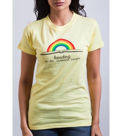 Reading is for Awesome People t-shirt