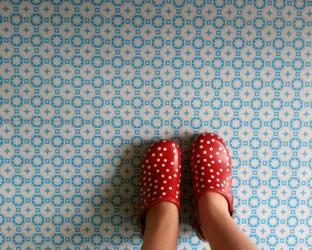 Rose Des Vents Vinyl Floor tiles for your home