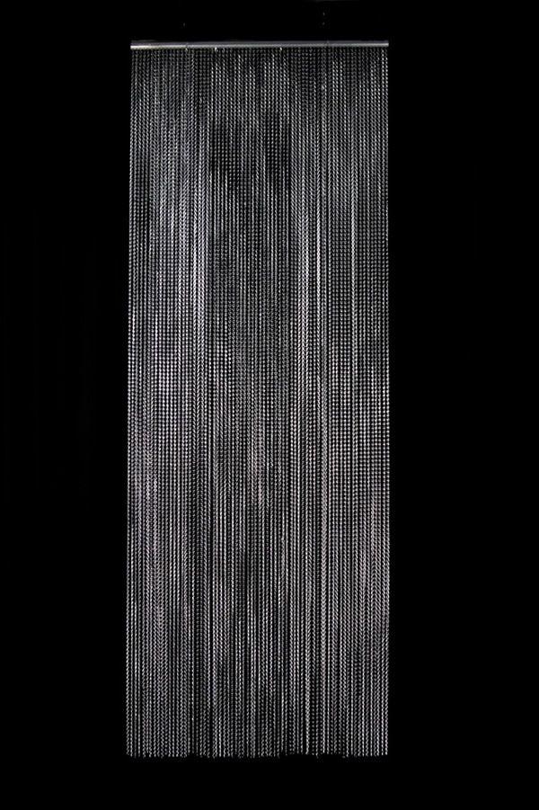 Linx Aluminum Mesh Curtain - 8ft, Metal Mesh Curtains, Event Decor Direct