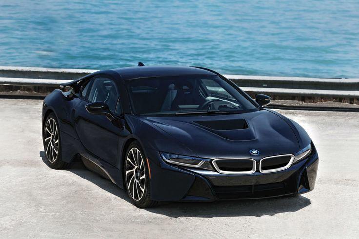 BMW i8 Drive Wallpaper Wide