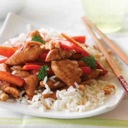 Honey soy chicken with cashews