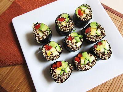 Raw Southwest Quinoa Sushi