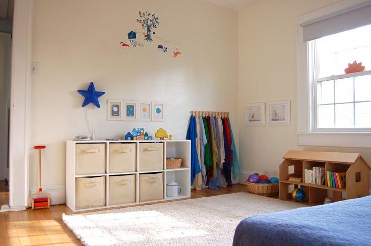 Ideas Montessori para decorar una habitación infantil. Colorfool