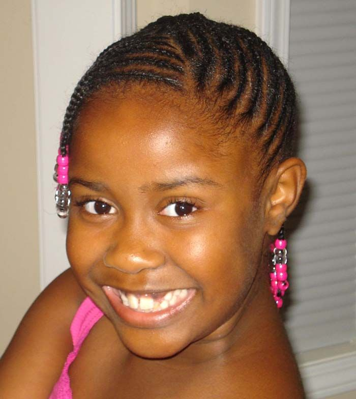 Hairstyles For Black Kids With Short Hair ~ http://wowhairstyle.com/black-kids-hairstyles/