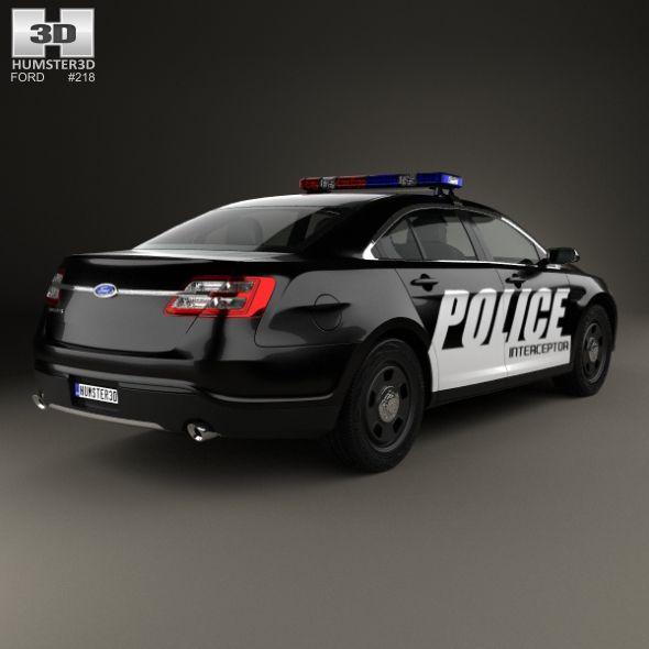 Ford Taurus Police Interceptor Sedan 2013 Police Taurus Ford