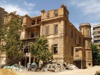 Durrell house in Alexandria to be demolished, 2013.