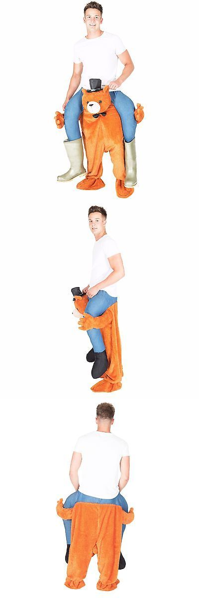 Unisex 86207: Teddy Bear Stuffed Ride On Me Stag Mascot Carry Piggy Back Fancy Dress Costume -> BUY IT NOW ONLY: $44.99 on eBay!