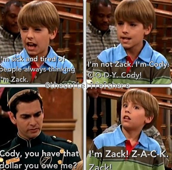 The Suite Life of Zack and Cody. I loved Estabon!