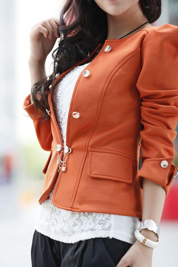 Delgada de la manera delgada del otoño chaqueta corta 2013 Hitz calidad Párrafo pequeñas mujeres cortocircuito de la chaqueta
