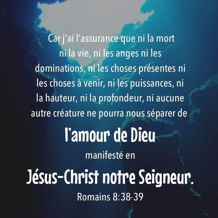 Romains 8: 38-39