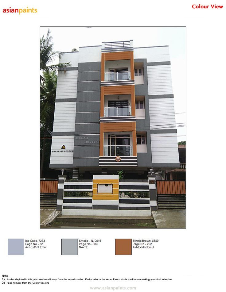 25 best color combination for exterior images on pinterest - Apartment exterior colour combination ...