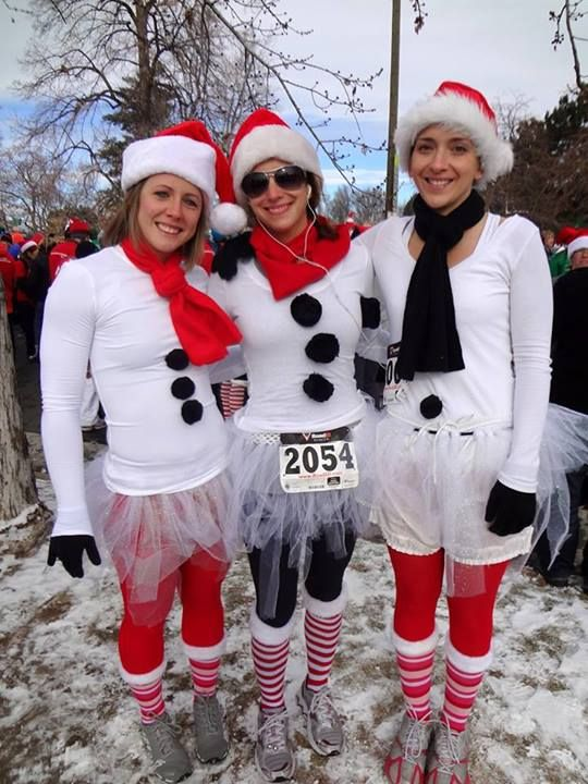 Need to do this for a winter run!!! Aunt V and I could do it!! Love it!! ❤️❄️⛄️…