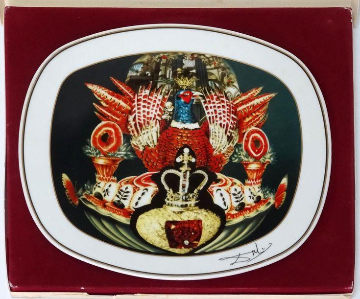 """Salvador Dalí: """"Les diners de Gala: Les chairs monarchiques"""" U.S.A. 4/3000…"""