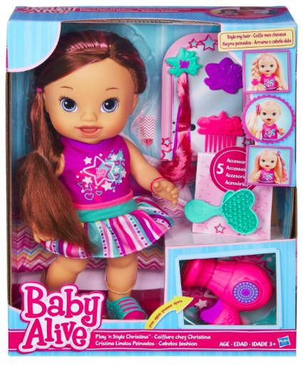 Baby Alive Play 'N Style Christina Doll - Holiday Gift Guide | Celeb Baby Laundry