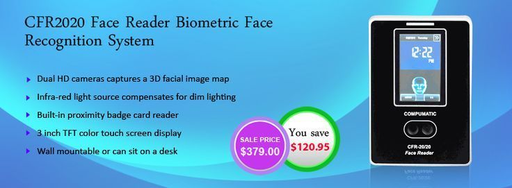 Grab our #bestseller #CFR2020 #BiometricFaceRecognitionSystem, at huge discount with #freeshipping.